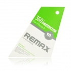 REMAX Screen Guard Film Protector + Cloth for Iphone 5 - Transparent