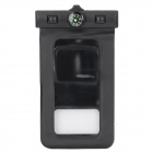 Universal Waterproof PVC Bag w/ Compass / Armband for Iphone + Samsung + More - Black