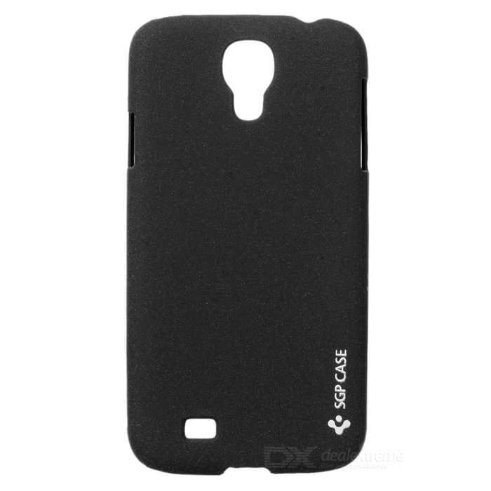Protective Matte Plastic Back Case for Samsung Galaxy S4 i9500 - Black 8x zoom telescope lens back case for samsung i9100 black