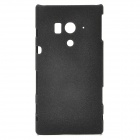 Protective Matte PC Back Case for Sony Xperia Acro S LT26W - Black