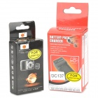 DSTE 3.7V 1600mAh Replacement Li-ion Battery w/ Car Charger for GoPro HD Hero 3 / 3+ - Black