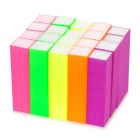 Fluorescent Nail Abrading Polishing Sponge Blocks (20 PCS)
