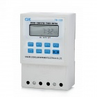 "TB-125 1.8"" LCD 220V Micro Computer Timer Control Switch - White + Blue (1 x AA)"