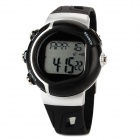 Multifunction Digital Pulse Rate Calories Counter Wrist Watch - Black (1 x 2032)