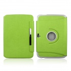 ENKAY ENK-7102 360 Degree Rotation Protective PU Leather Case for Google Nexus 10 - Green