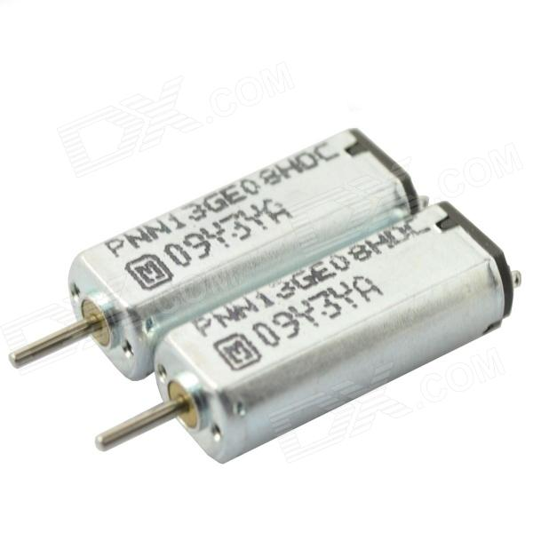 1SK30 19000RPM DC Motor - Silver (DC 4.5V / 2 PCS) mpx010 high speed 18000rpm coreless motors silver dc 3v 2 pcs