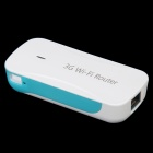 L9 5200mAh Mobile Power Wi-Fi Wireless 3G Router / AP - Blue + White