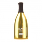 ADATA UC500 Wine Bottle Style USB 2.0 USB Flash Drive w/ Strap - Golden + Black (16GB)