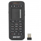 IR-100-RF 2.4GHz Wireless 19-Key Keyboard w / Touchpad-Maus - Schwarz (2 x AAA)