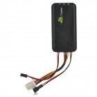 GT 06+ Mini GSM Quad-Band 850/900/1800/1900MHz GPRS GPS Tracker w/ Microphone - Black (DC 8~45V)