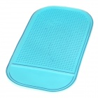 ZHU11 Spider Super Stickiness PVC Non-Slip Mat Pad - Translucent Blue
