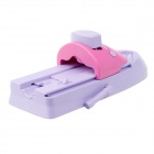 DIY Nail Art Printing Stamp Machine Set - Purple + Pink