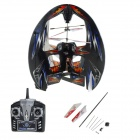 4-CH 2.4GHz Radio Control R/C UFO Airplane w/ Gyro - Orange + White + Black + Blue