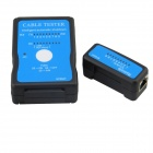 M726AT LAN RJ45 RJ11 USB Cable Tester - Black + Blue (1 x 9V)
