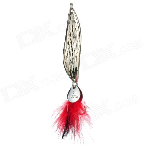 Shark Hand Sequins Rattlesnake Fishing Baits - Silver