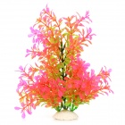 Aquarium PVC Simulation Falk Water Flower - Green + Pink