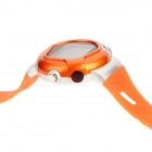 Multifunction Digital Pulse Rate Calories Counter Wrist Watch - Orange (1 x 2032)