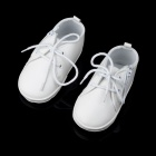 Fashion PU Leather Shoes for 9~12 Months Baby - White (Pair)