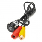 "Eagleyes EC-TH1006 1/4"" CCD 170' Wide Angle Car Rearview Camera w/ Night Vision - Black (DC 12V)"