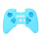 Protective Soft Silicone Case Cover for Wii U Controller - Blue