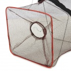 Nylon + Plastic Net for Fish / Shrimp / Small Crab - Brown + Red