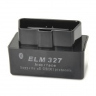 Super Mini ELM327 Bluetooth V1.5 OBD2 ferramenta de diagnóstico de diagnóstico do carro - preto