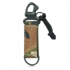 1000D Nylon CP Backpack Strap Keychain - Camouflage
