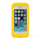 AW-101 universal Funda protectora impermeable para Iphone 4 / 4S / 5 - Amarillo