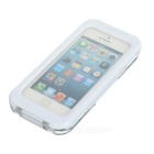 AW-101 universal Funda protectora impermeable para Iphone 4 / 4S / 5 - Blanco