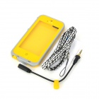 IPEGA I5008D Ultra-Slim ABS Water Resistant Case for Iphone 5 - Yellow