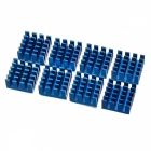 AVE X3 RAM Heatsink - Blue (8 PCS)