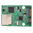 High Speed ​​Dual Chip SD zu SATA Festplatte Adapter Card