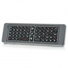 RII RT-MWK13 Mini Wireless Keyboard w/ IR Remote + Air Mouse - Black