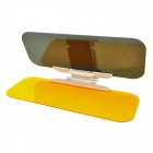 Day and Night Auto Car Snow Protection / Non-Glare Sunshade Mirror - Translucent Yellow
