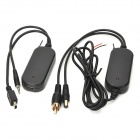 R02 2.4Ghz Wireless Transmitter Receiver Car Rear Backup Camera for GPS - Black