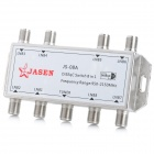 JS-08A 8 x 1 Signal Control DiSEqC Switch - Silver