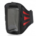 Sports Armband for Blackberry BB Z10 - Red + Black