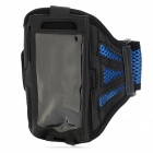 Sports Armband for Blackberry BB Z10 - Blue + Black