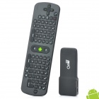 GVMX2 + RC11 Air Mouse Dual-Core Android 4.1.1 Mini PC Google TV Player w/ 1GB RAM / 8GB ROM - Black