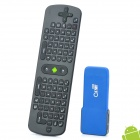 GVMX2 + RC11 Air Mouse Dual-Core Android 4.1.1 Mini PC Google TV Player w/ 1GB RAM / 8GB ROM - Blue