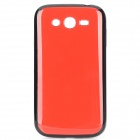 Protective Plastic Back Case for Samsung i9082 - Red