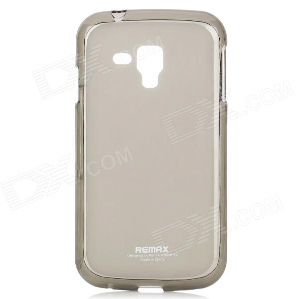 все цены на REMAX Protective Back Case w/ Screen Protector for Samsung i8262D - Translucent Grey онлайн