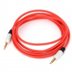 3.5mm Male to Male Audio Extension Cable - Red (155CM)