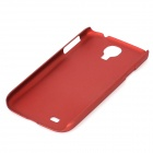 Protective Back Case for Samsung Galaxy S4 i9500 - Red