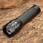MY-323 150~250lm 3-Mode White Zooming Flashlight w/ Cree XP-E Q5 - Black (1 x 18650 / 3 x AAA)