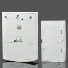 Wireless Doorbell System w/ Receiver + Transmitter - White (2 x AA + 1 x 23A)