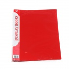 Stationery Office Supplies Display Books File Folder - Red (30-Sheet)