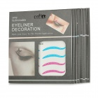 Cosmetic Double Eyelid Sticker / Eyeliner Sticker - Multicolored (8 PCS)