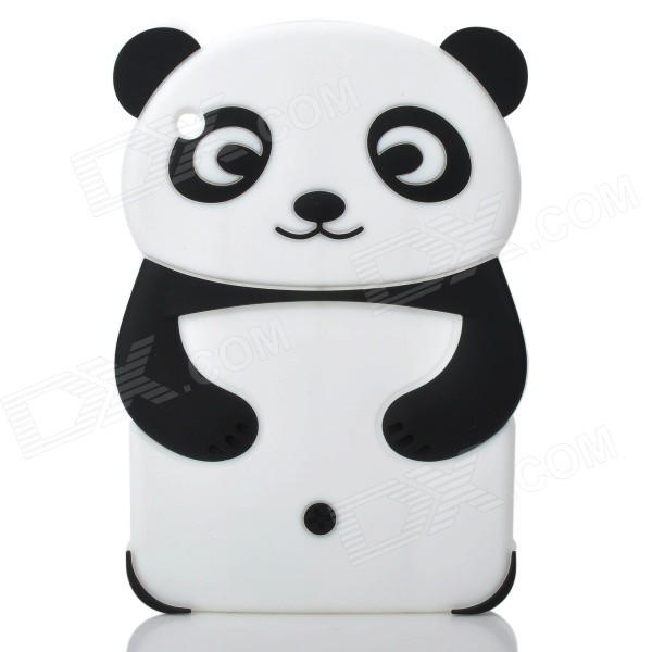 Cute Panda Style Protective Silicone Back Case for Ipad MINI - Black + White gigaset sl450h
