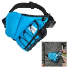 RIMIX R-Y Outdoor Sports Waterproof Nylon Reflective Strip Waist Bag - Blue